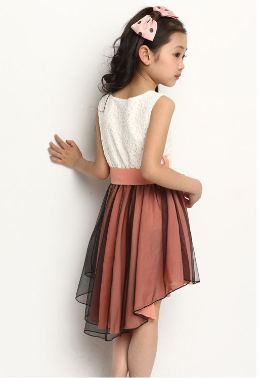 Kids Girl Swallowtail Dress