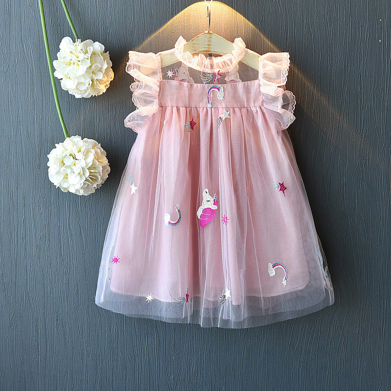 [Pre-Order] Kids Girl Unicorn Dress