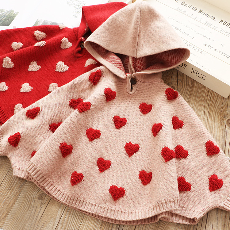 [Pre-order] 011 CNY Kids Girl Knitted Top (Pink)