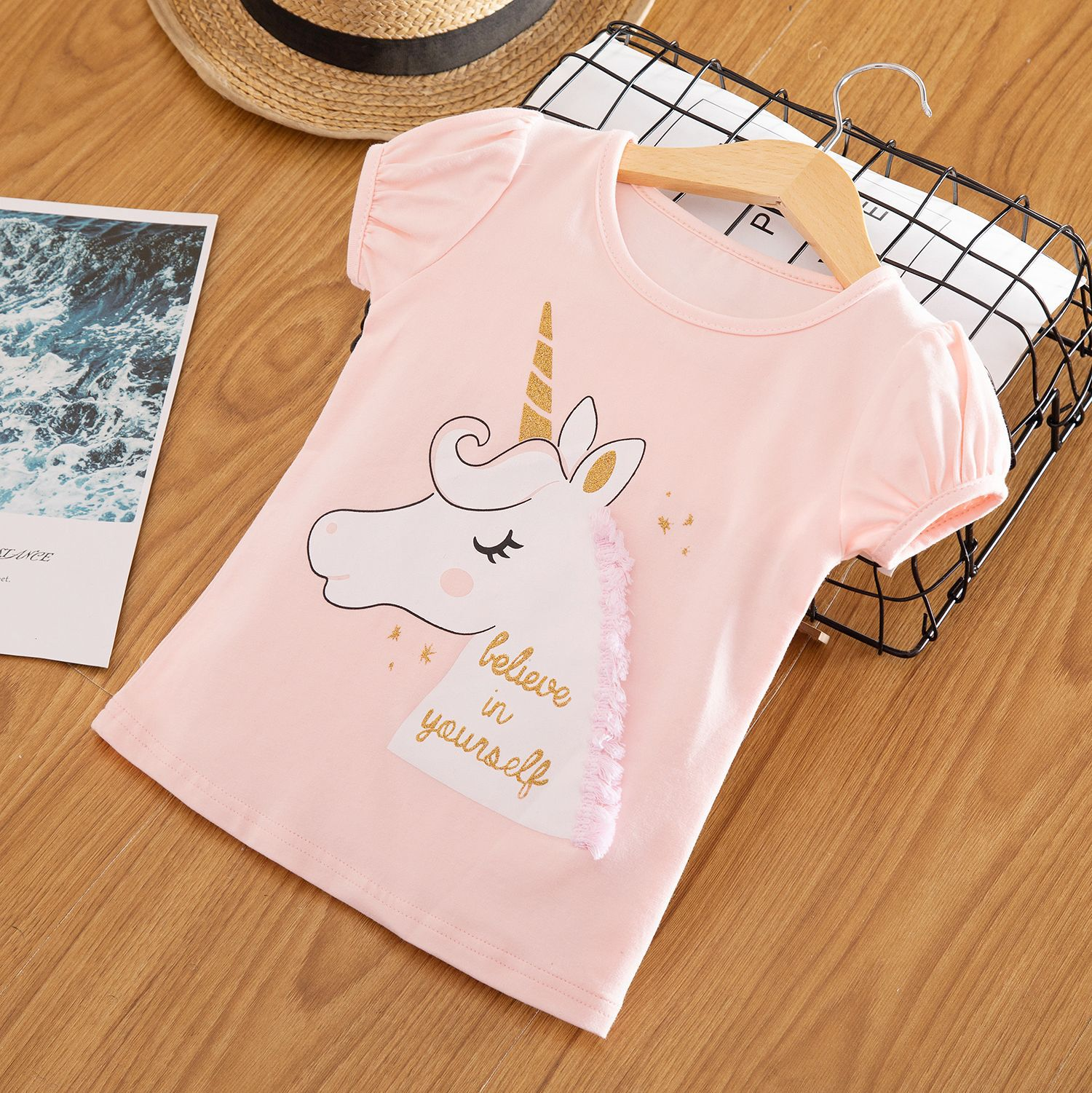 [Pre-order] Kids Girl T-shirt Top